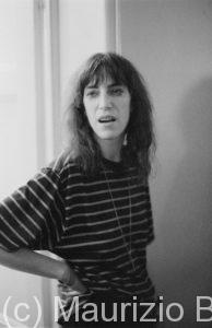 Patty Smith, cantante rock, 1979
