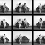 Alcune delle figure che hanno fatto parte del libro/gioco Fotocoppie