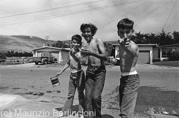 Alviso (California) teenagers, 1972