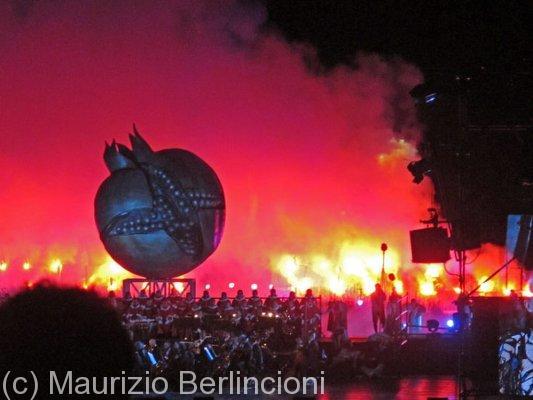 Toscana, Concerto di Andrea Bocelli, 2012