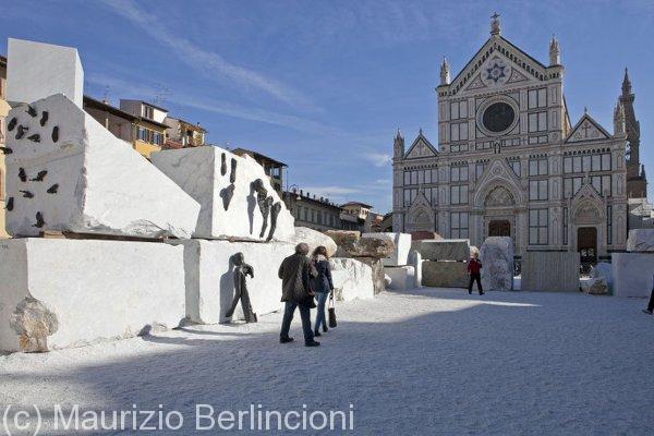 """Florens"", Piazza Santa Croce, Firenze, 2012"