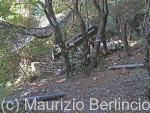 Museo alll'aperto di Mleeta, postazioe difensiva di Hezbollah