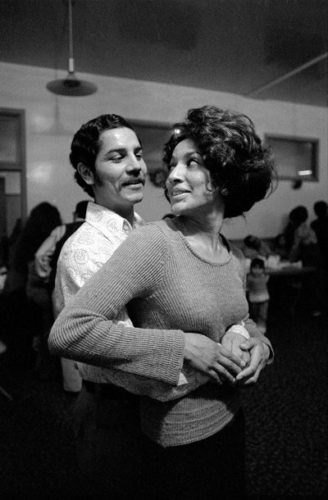 Mexican couple, San Jose (California), 1972
