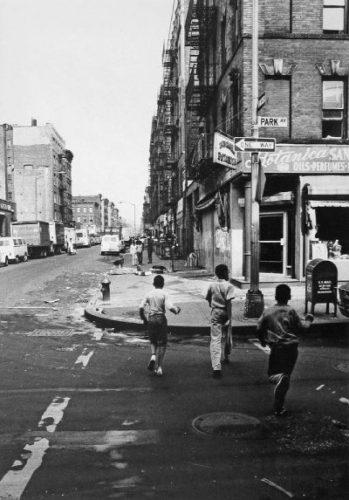 Ragazzi sulla Park Ave. NY, 1969
