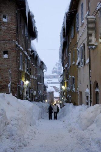 Neve. Urbino, 2012