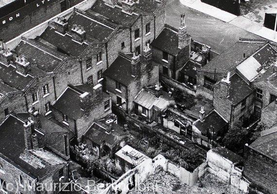 Isle of Dogs, Borough of Tower Hamlets, London, 1970