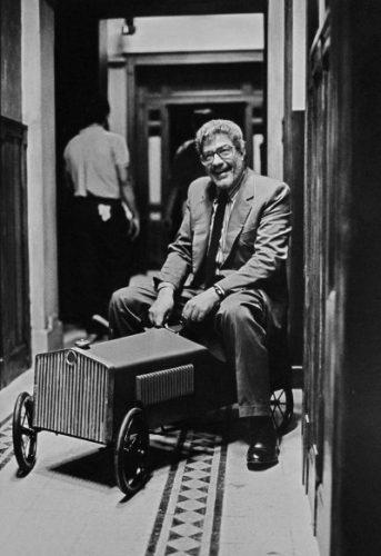 Ettore Scola, regista, 1986