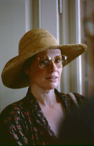 Liv Ulmann, attrice, Roma 1986