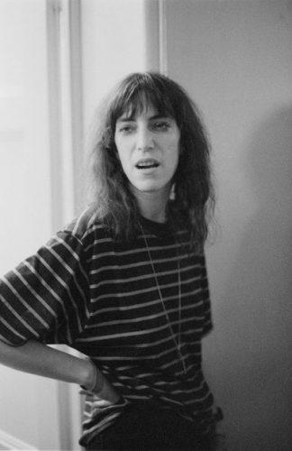 Patty Smith, cantante rock, 1979